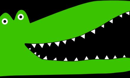 Krokodiletetés
